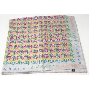 Chanel silk square scarf